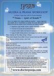 Mudra & Prana Workshop