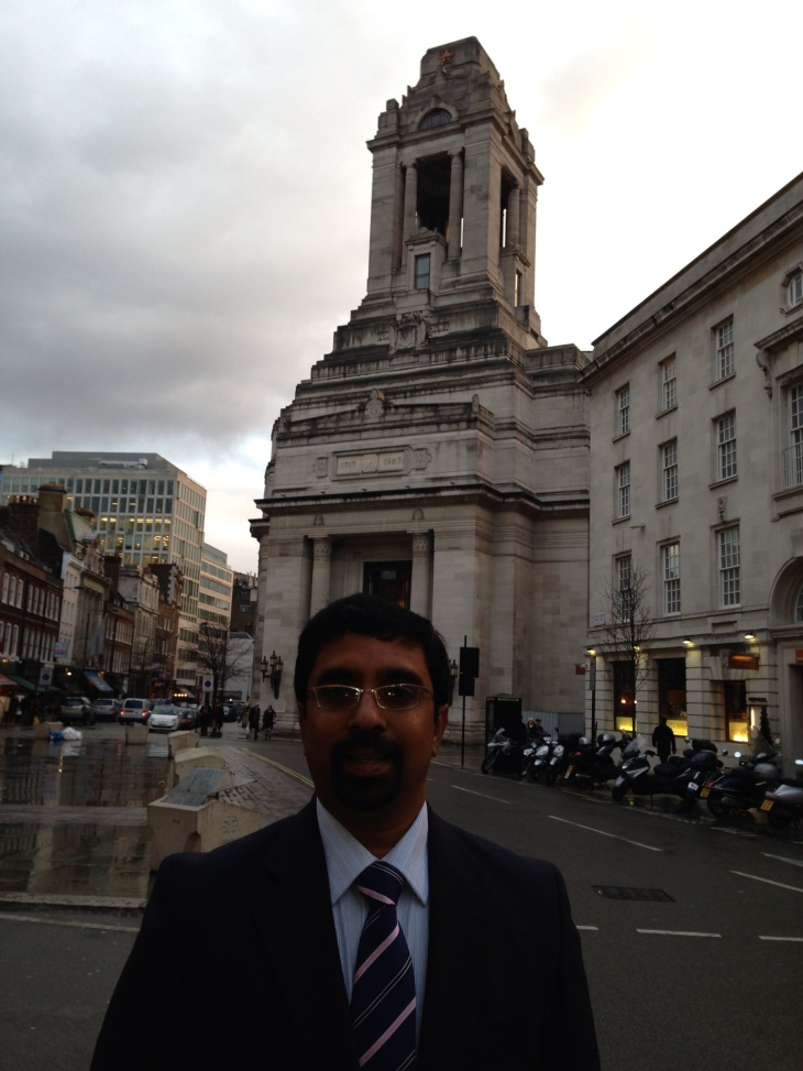 Dr Sridhar Maddela in London