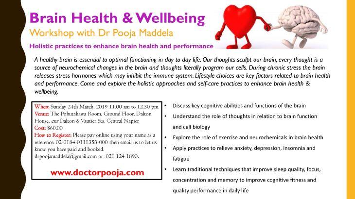 Brain Health Flyer March 2019