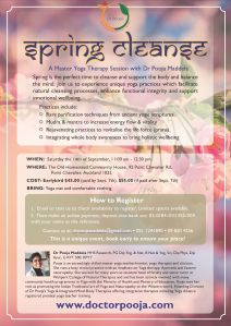 Flyer - Spring Cleanse Sept 2019 Auck