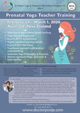 Prenatal yoga poster 2020