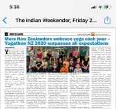 Yogathon 2020 The Indian Weekender